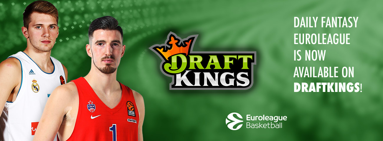 Daily Fantasy EuroLeague by DraftKings is finally here!