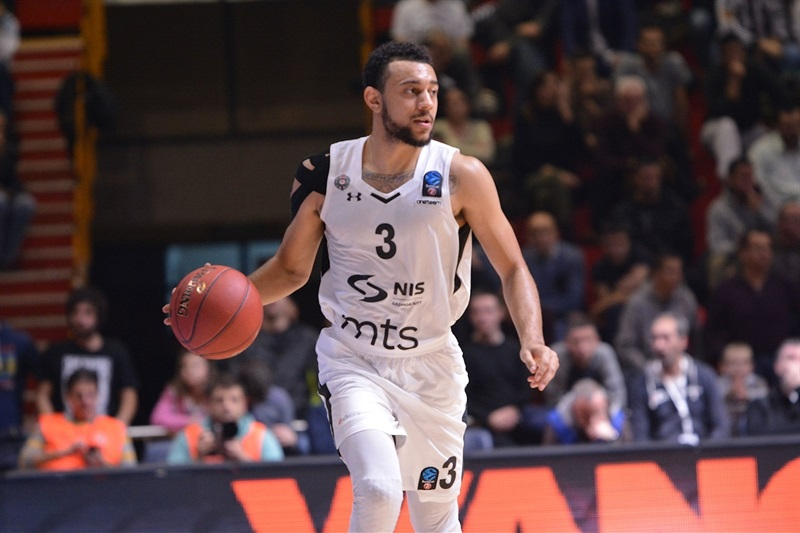 Nigel Williams-Goss - Partizan NIS Belgrade (photo Partizan) - EC17