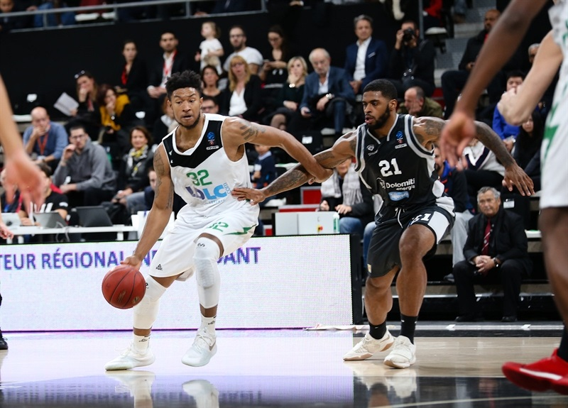 Justin Harper - ASVEL Villeurbanne  (photo Asvel - infinity Nine Media - Arthur Viguier) - EC17