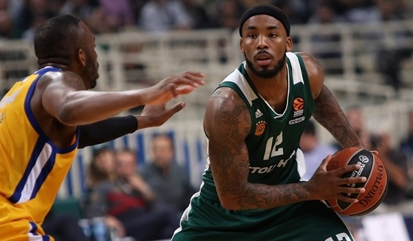 RS Round 7 report: Denmon sinks seven triples as Panathinaikos routs Khimki