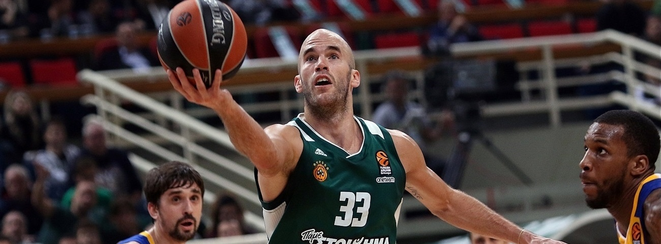 Turkish Airlines EuroLeague MVP for November: Nick Calathes, Panathinaikos Superfoods Athens
