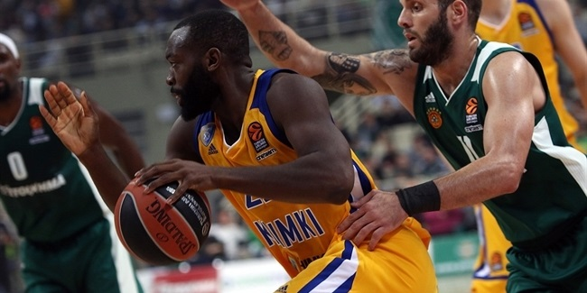 Charles Jenkins, Khimki: 'Trying to get back on track'