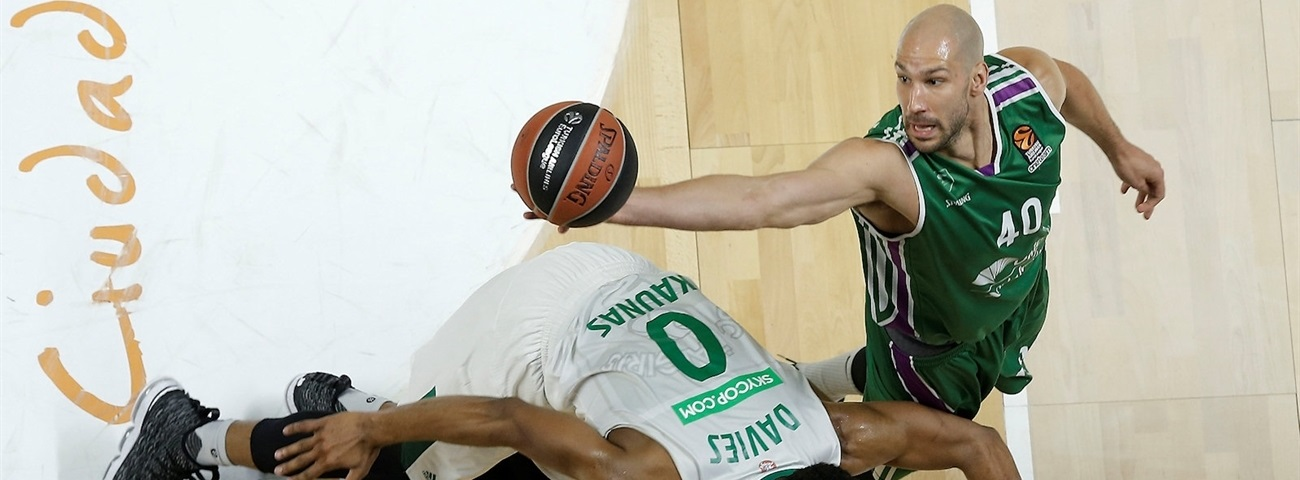 James Augustine, Unicaja: 'We'll keep fighting, I know that'