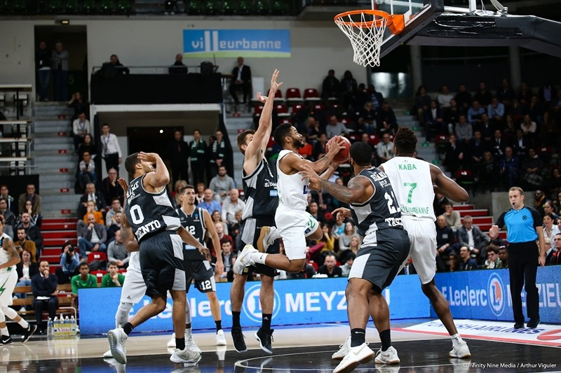 John Roberson - ASVEL Villeurbanne  (photo Asvel - infinity Nine Media - Arthur Viguier) - EC17