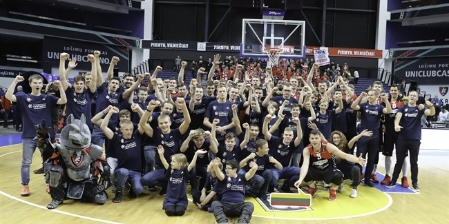 Lietuvos Rytas gives game-day welcome to One Team participants