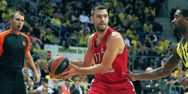 Olympiacos guard Mantzaris out indefinitely