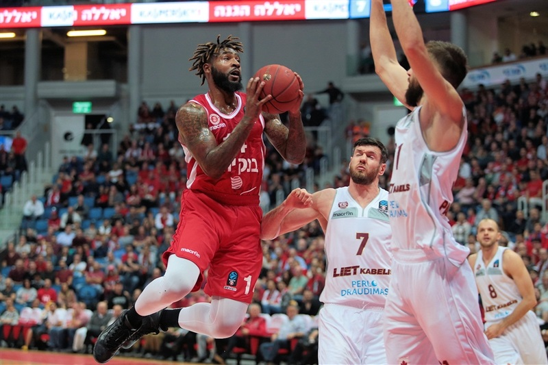 Richard Howell - Hapoel Bank Yahav Jerusalem (photo Jerusalem) - EC17