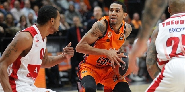 RS Round 7: Valencia Basket vs. AX Armani Exchange Olimpia Milan