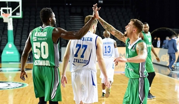 Regular Season, Round 6: Darussafaka thrashes Levallois, qualifies to Top 16
