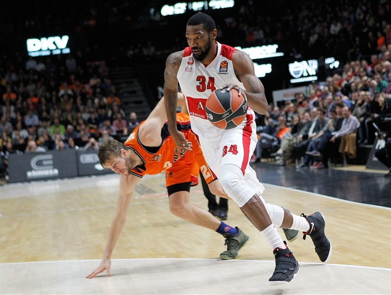 Cory Jefferson - AX Armani Exchange Olimpia Milan - EB17