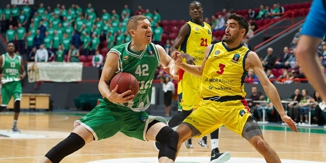 7DAYS EuroCup, Regular season, Round 6: UNICS Kazan vs. Morabanc Andorra