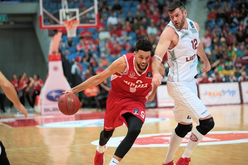 Austin Daye - Hapoel Bank Yahav Jerusalem (photo Jerusalem) - EC17