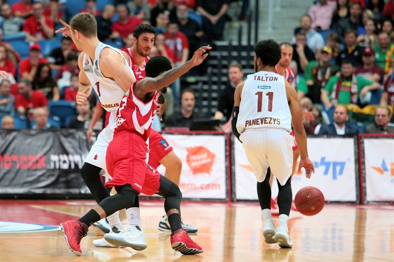Gary Talton - Lietkabelis Panevezys (photo Jerusalem) - EC17