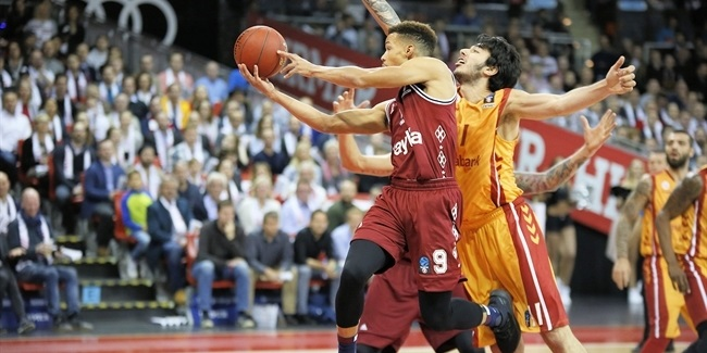 7DAYS EuroCup, Regular season, Round 6: FC Bayern Munich vs. Galatasaray Odeabank Istanbul