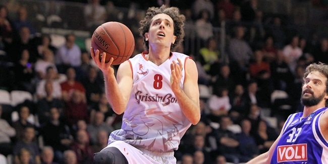Amedeo Della Valle, Reggio Emilia: 'It is my moment'