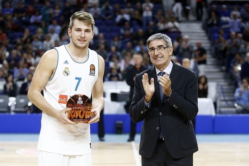 Luka Doncic, October MVP - Real Madrid - EB17
