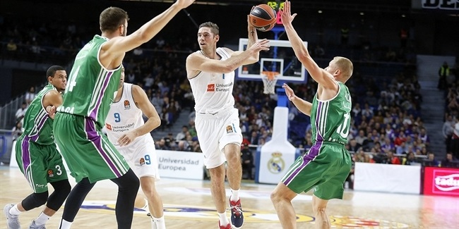 RS Round 8: Real Madrid vs. Unicaja Malaga
