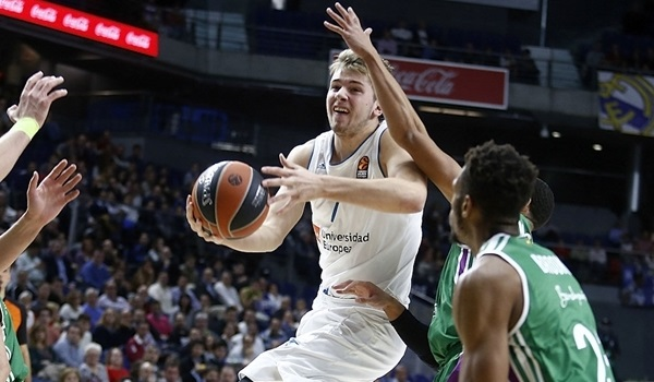 RS Round 8 report: Madrid blows away Malaga as Doncic stars again