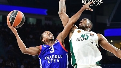 Interview, Errick McCollum, Efes: 'What better way to test yourself?'