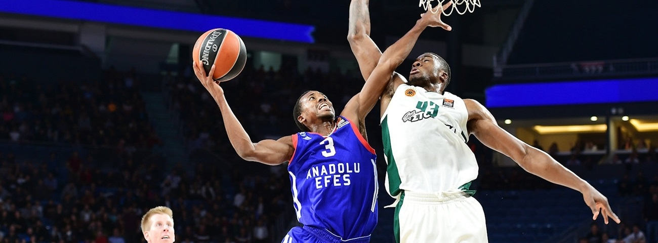 Errick McCollum, Efes: 'What better way to test yourself?'