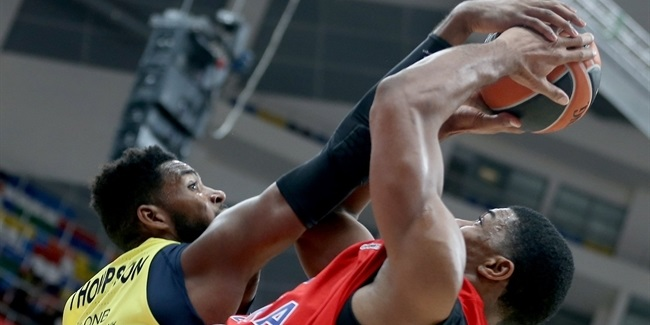 RS Round 8: CSKA Moscow vs. Fenerbahce Dogus Istanbul