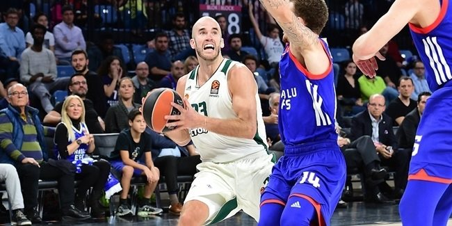 Round 8 MVP: Nick Calathes, Panathinaikos Superfoods Athens