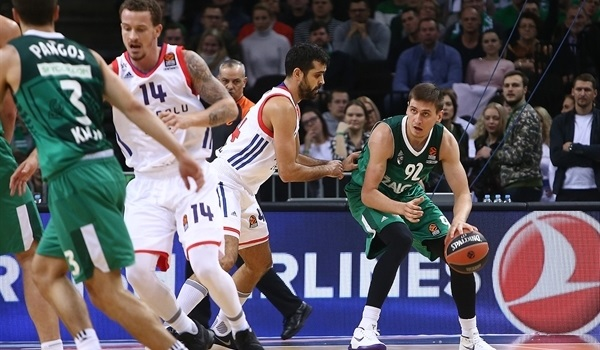 RS Round 9 report: Zalgiris holds off Efes on home floor