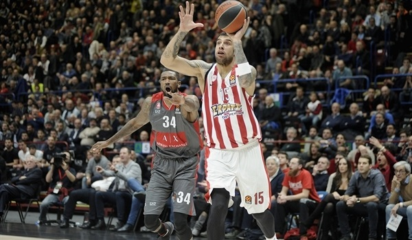 RS Round 9 report: McLean leads Olympiacos past Milan in thriller