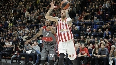 McLean leads Olympiacos past Milan in thriller