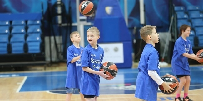 Khimki launches new One Team season with children center