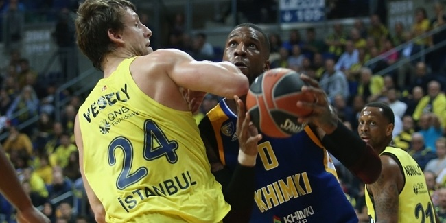 RS Round 9: Fenerbahce Dogus Istanbul vs. Khimki Moscow Region
