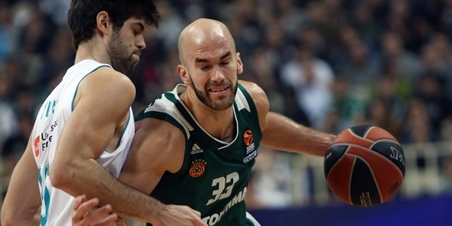 RS Round 9: Panathinaikos Superfoods Athens vs. Real Madrid