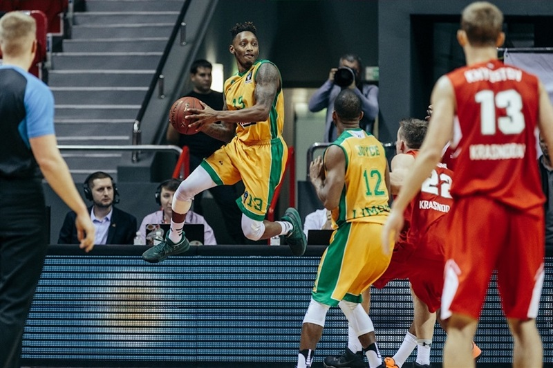 Kenny Hayes - Limoges CSP (photo Lokomotiv) - EC17