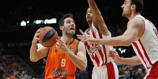 RS Round 10: Valencia Basket vs. Olympiacos Piraeus