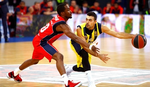 RS Round 10 report: Nunnally, Sloukas led champs to victory at Baskonia