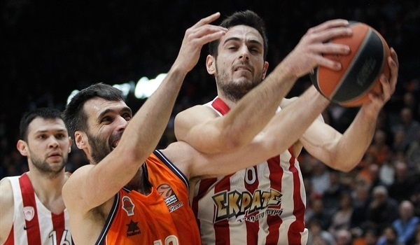 RS Round 10 report: Papanikolaou paces Olympiacos to dominant win over Valencia