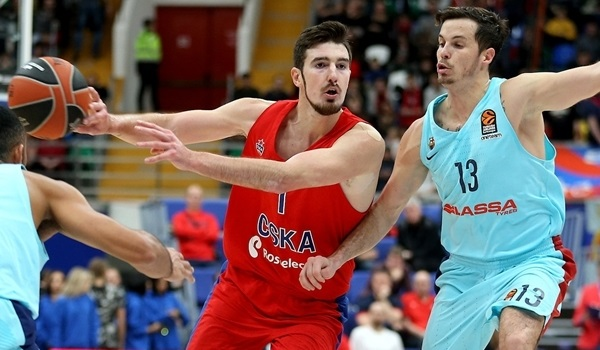 RS Round 10 report: De Colo inspires CSKA to hard-earned win over Barcelona
