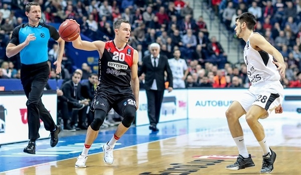 Regular Season, Round 7: Rytas rolls past Partizan to get on cusp of Top 16