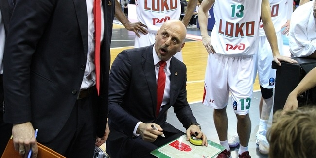 7DAYS EuroCup Coach of the Year: Sasa Obradovic, Lokomotiv Kuban Krasnodar