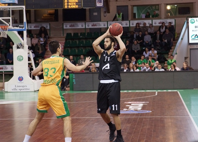 Shane Hammink - RETAbet Bilbao Basket (photo Limoges - Olivier Sarre) - EC17