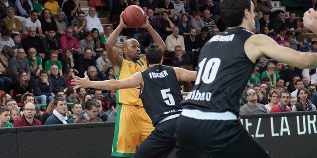 7DAYS EuroCup, Regular season, Round 7: Limoges CSP vs. RETAbet Bilbao Basket