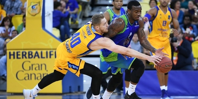 7DAYS EuroCup, Regular season, Round 7: Herbalife Gran Canaria vs. Tofas Bursa