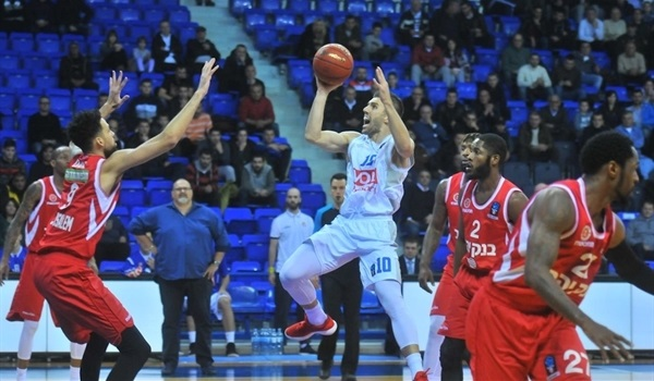 Regular Season, Round 7: Buducnost blasts Jerusalem and climbs to second place