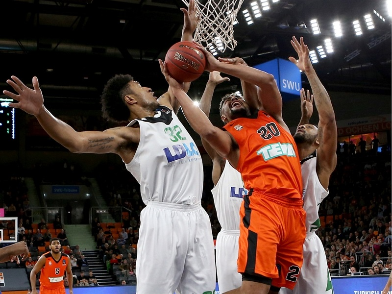 Jerelle Benimon - ratiopharm Ulm  (photo Ulm - Florian Achberger) - EC17
