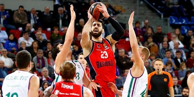 RS Round 11: Baskonia Vitoria Gasteiz vs. Unicaja Malaga
