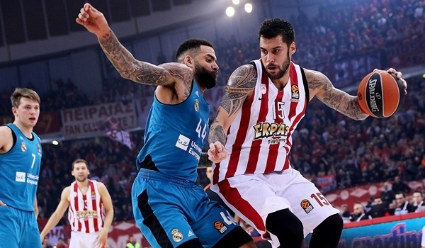 RS Round 11 report: Printezis leads Olympiacos past Madrid in OT thriller