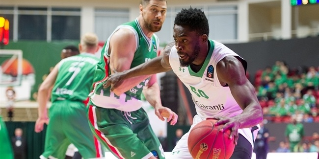 7DAYS EuroCup, Regular season, Round 8: UNICS Kazan vs. Darussafaka Istanbul
