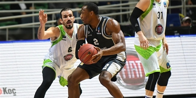 7DAYS EuroCup, Regular season, Round 8: Tofas Bursa vs. Dolomiti Energia Trento