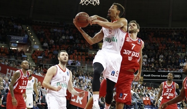 Regular Season, Round 8: Bayern blasts Jerusalem on record scoring night