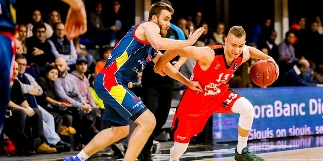 7DAYS EuroCup, Regular season, Round 8: Morabanc Andorra vs. Cedevita Zagreb